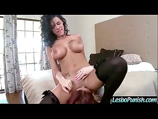 (monique&peta) Superb Lesbians In Hard Punish Sex Action Using Toys clip-30
