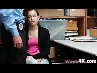 Stealing Teen Bobbi Dylan Office Doggy Style