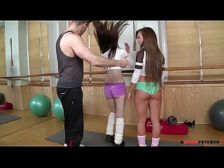 Intense threesome with Fit babes Bella Baby & Timea Bela
