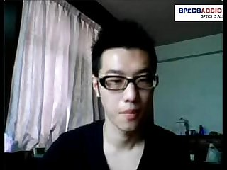 Specsaddicted presents Taiwanese boy straight