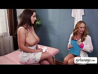 Big titty angela white consults and fucks with her doctor carter cruise