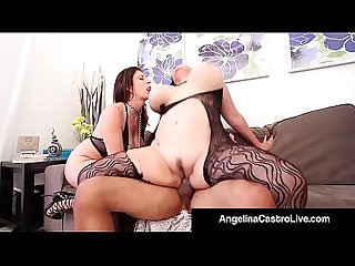 Cuban bbw angelina castro king noir make sara jay submit