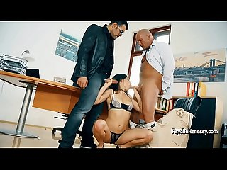 Brilliant henessy spreads her long legs for chief S dick