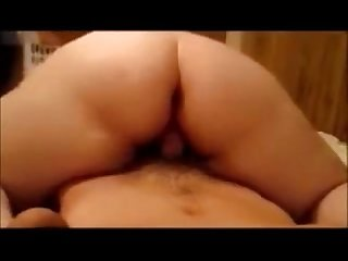 Wife Reverse Husband Dick And Take Huge Creampie To Pussy