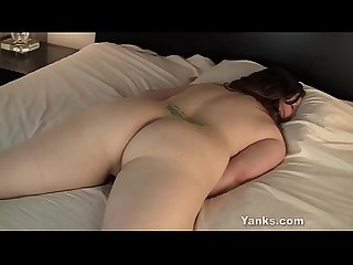 Nasty Yanks BBW Jessica Gains Humps Her Hand