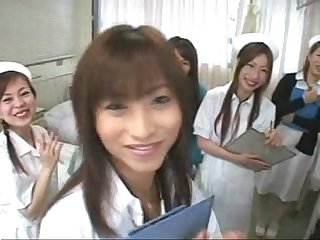 Japanese Nurse and patient group sex1