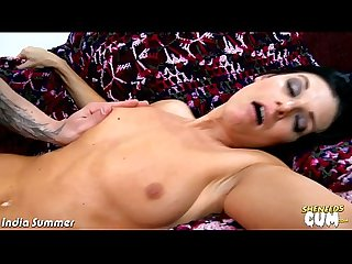 Milf india summer fucking a big cock for jizz