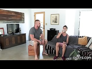 Hairy Bear Makes Love with a Skinny Gay