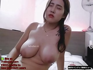Korean milf big boobs cam show live at livekojas com