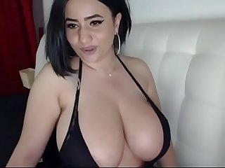 Hot girl with huge tits free cam