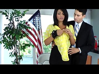 Pretty tgirl secretary jane marie fucked by her stud boss