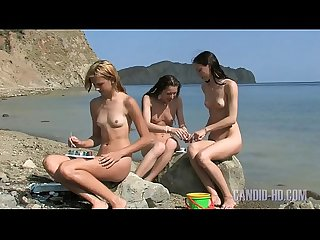 Naked girls at Krimea