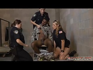 Wank it now milf hd and extra small black anal fake soldier gets used