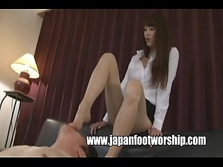 Foot Fetish Japanese Girl