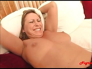 Negroed period com blond milf get her first monster cock up the asshole