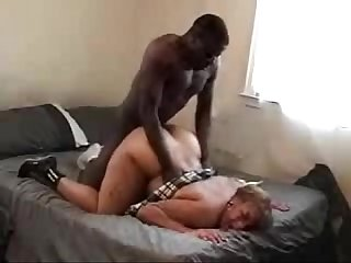 Big girl with meaty ass getting pounded by BBC