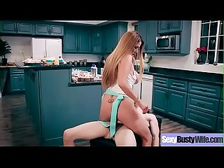 Hardcore Sex Tape With Busty Slut Horny Wife (Kianna Dior) video-14