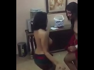 Indian nude private party dance