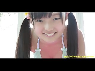 Kasumi kobayashi jav idol debut teases in her one peace very cute teen flashes