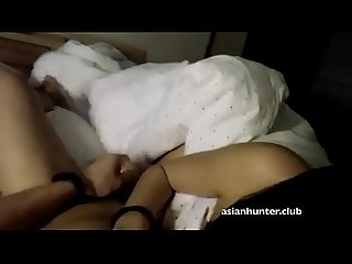 Shy Chinese ling from asianhunter club gets fucked from behing and spanked