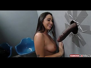 Big Black Cock For Karlee Grey At The Famous Glory Hole