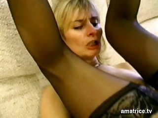 Blonde mature cheats on her husband