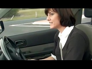 Manchester milf plays with pussy in her car boobsandtits co uk