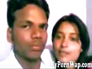 Lalpur college girl kissing boyfriend in hostel room MMS