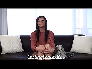 Casting couch x shy girl wants to be get fucked on cam