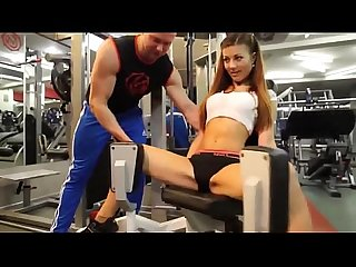Sexy girl in gym more http adf ly 1s5iaa