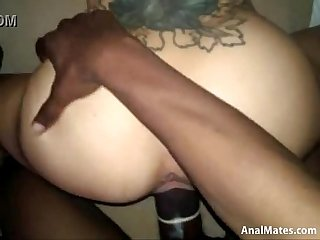 Hot ass bitch sucking and fucking hard