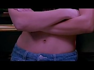 (Edit zoom slow motion) Indian actress Kajal Aggarwal hot bouncing boobs pressed by Elli..