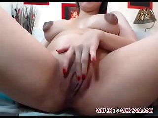 Nearly giving birth milf fingers pussy live porn webcam