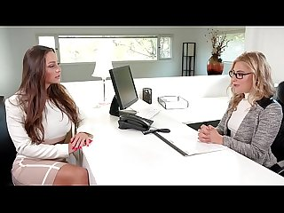 GIRLSWAY - Inappropriate Office Behavior - Abigail Mac, Sinn Sage And The Squirter Lindsey..