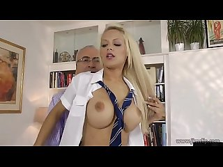 Lou Lou fuck old guy part 1