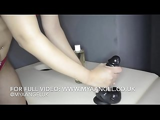 British Indian MYA ANGEL Paid By BBC Happy Ending AT THE MASSAGE PARLOR
