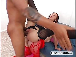 Big black dick going deep in ass SL-18-02