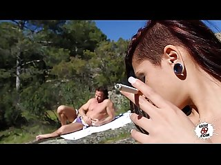 El sueo de aris dark spanish girl having sex in the river leche 69