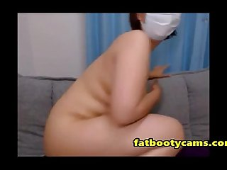 Chubby Japanese Butt on Cam - fatbootycams.com