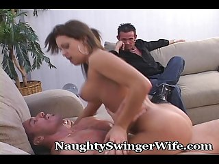 Naughty girl offered to another man