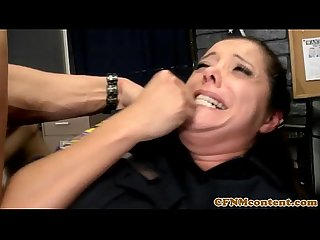 Cfnm police femdoms getting anal from subs