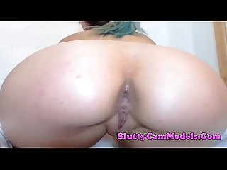 Big Ass Camgirl With Tight Innie Pussy