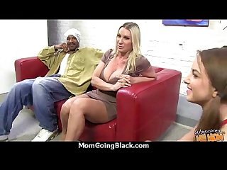 Hot Milf takes on 11 inch huge monster black cock 25