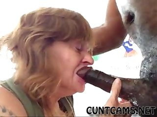 Granny Gets Her Throat Wrecked By BBC - More at cuntcams.net