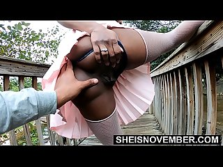 4k sheisnovember young pussy and big ass public flash