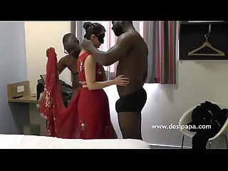 Indian Bhabhi fucked group sex by big black cock desipapa com