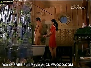 Cumwood com girl helps young boy in the shower