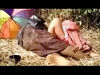Indian hot wife fucked in the farm