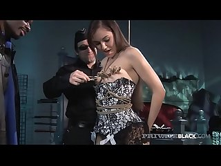 BDSM With Hot Young Sasha Grey & A Big Black Cock!