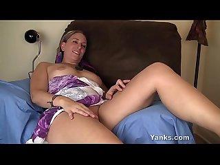 Yanks blonde azrael masturbating